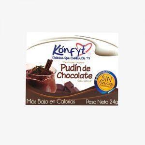 Pudín dietético chocolate 24g Konfyt