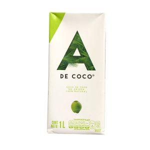 Agua de coco 100% orgánica
