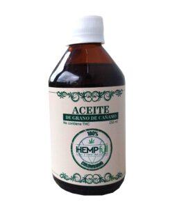 Aceite de semillas de cáñamo 250 ml