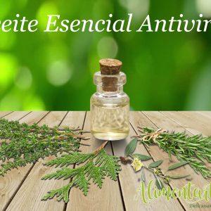 Aceite antiviral