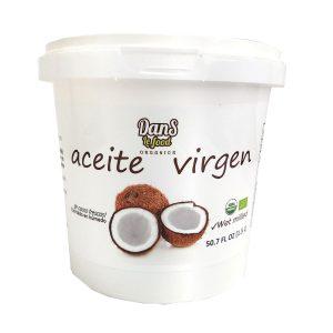 Aceite de coco virgen organico