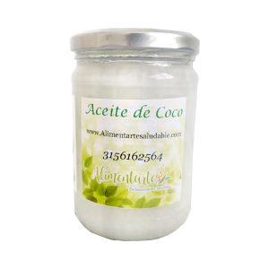 Aceite de coco virgen orgánico Aliementarte