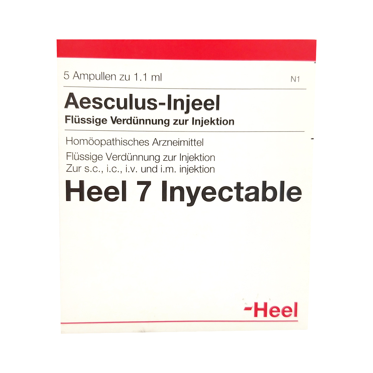 Medicamento homopatico para venas