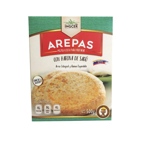 Mezcla de Arepas Sin gluten