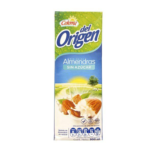 Leche de Almendras sin azúcar el origen