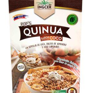 Caja Pops Quinua Coco de referencia