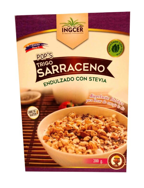 Caja Pops Trigo Sarraceno de referencia