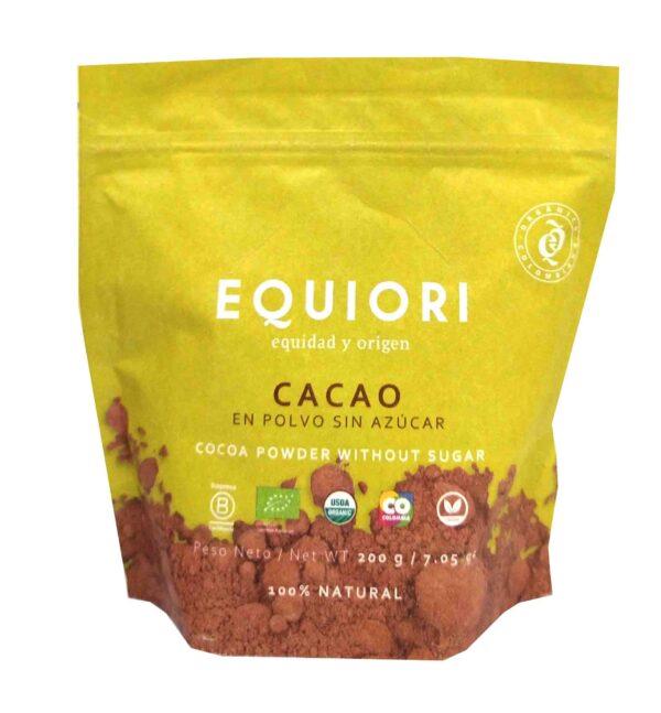 Cacao en polvo equiori de referencia
