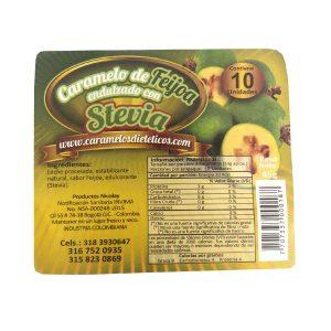 dulce con stevia