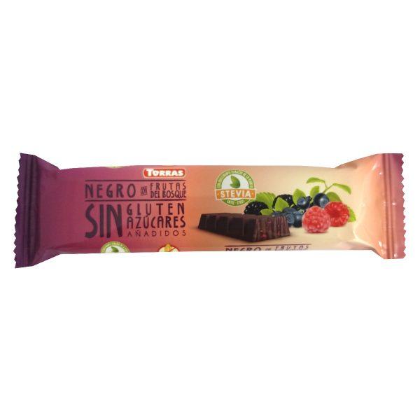Chocolatina cacao 60% Frutos del bosque