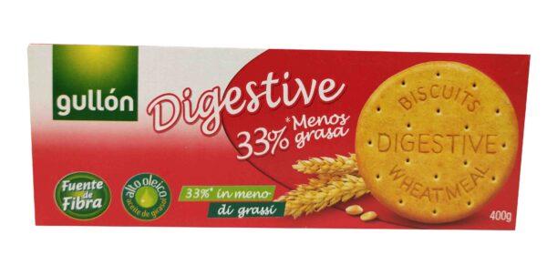 Galleta Gullón Digestive 33% de referencia