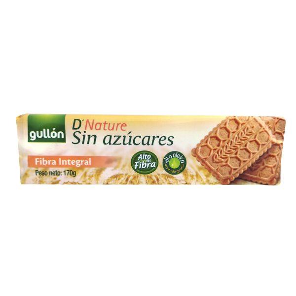 Galleta Fibra Integral Diet Nature