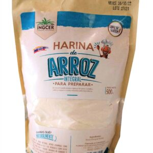 Harina de arroz integral de referencia