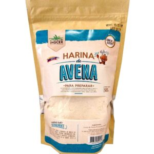 Harina de avena sin gluten de referencia