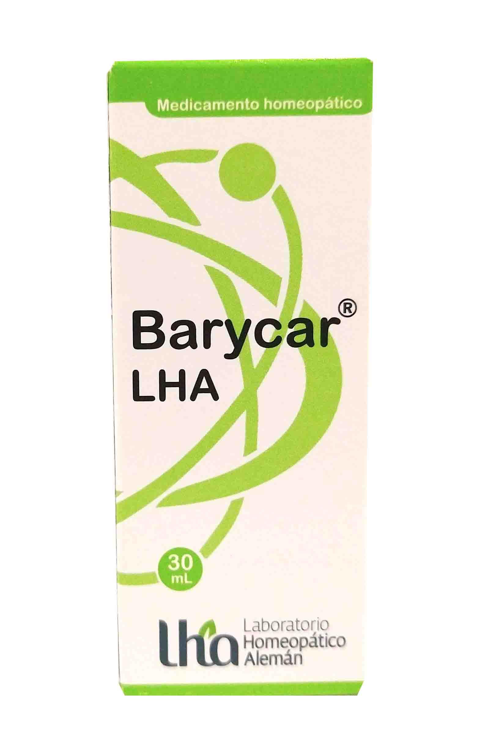 Barycar gotas 30 ml