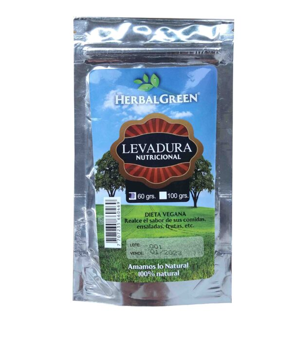 Levadura Nutricional 60g HerbalGreen