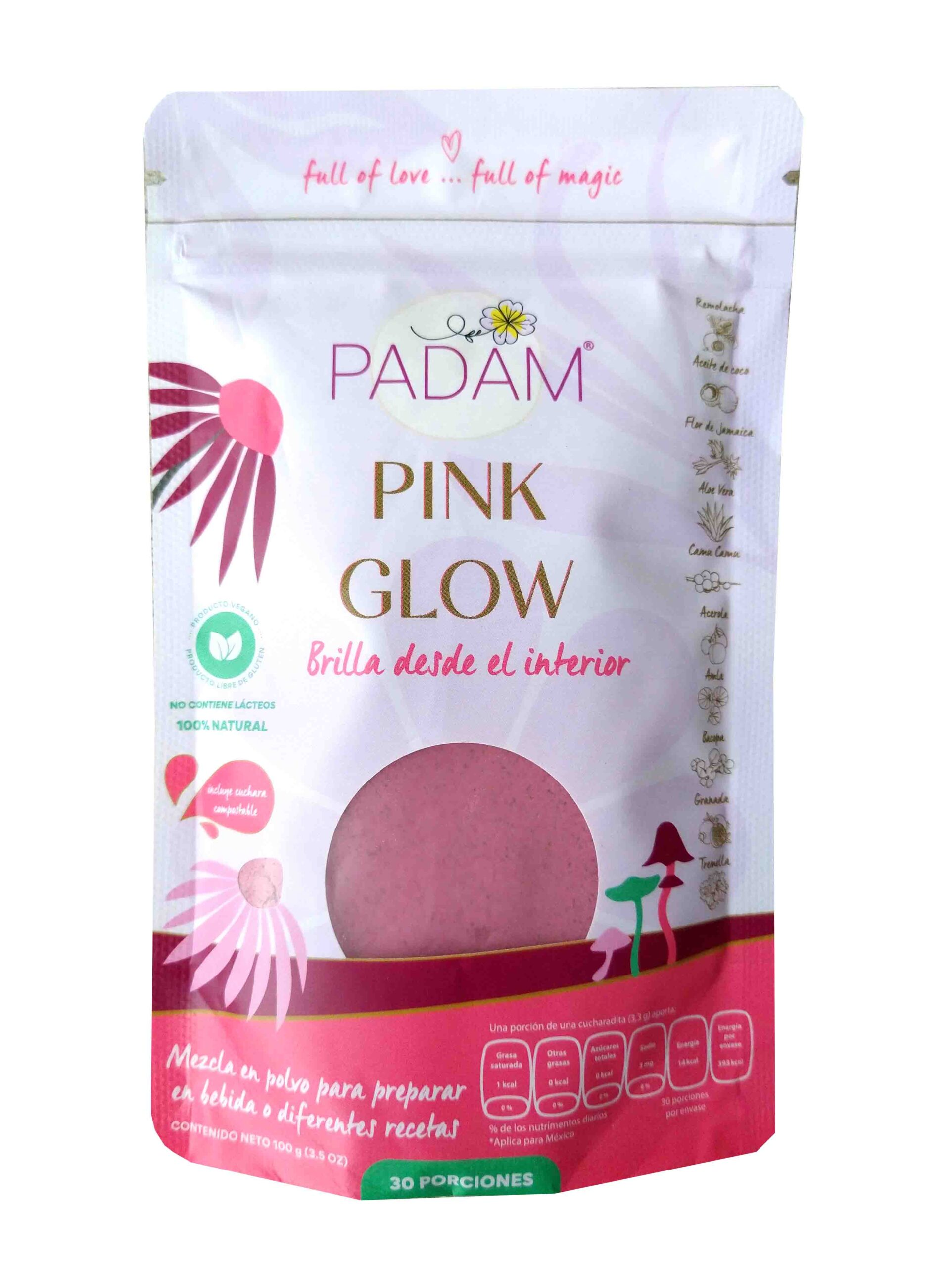 Pink glow padam