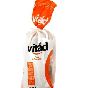 Pan sin gluten cuatro granos 400g Vitad