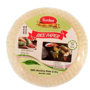 Libre de gluten, ideal para preparar almuerzos ligeros muy saludables hecho con arroz y harina de tapioca.