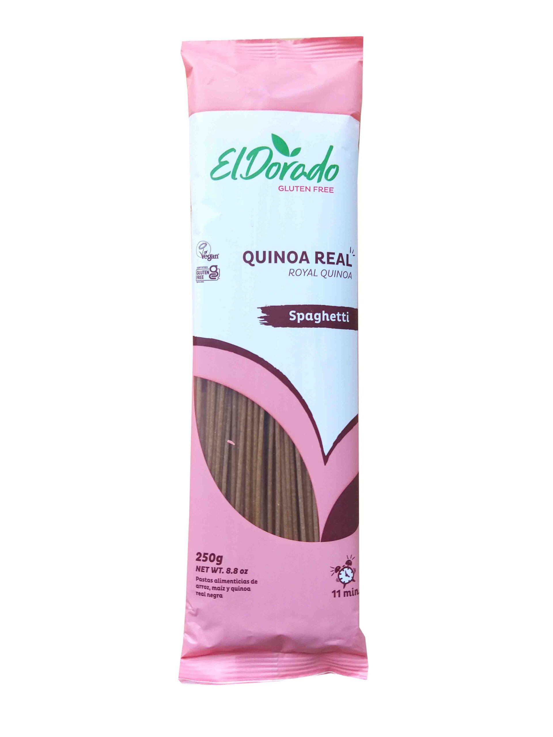 Pasta de Quinua spaguetti 250g El Dorado