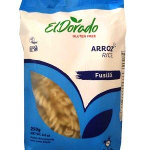 Pasta de arroz fusilli 250g El Dorado