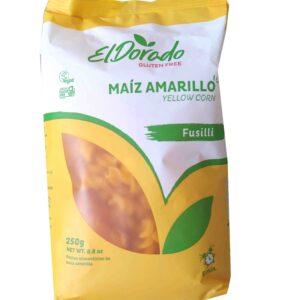 Pasta de Maíz fusilli 250g El Dorado