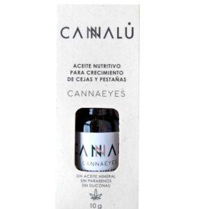 Aceite para crecimiento de cejas y pestañas cannaeyes 10g