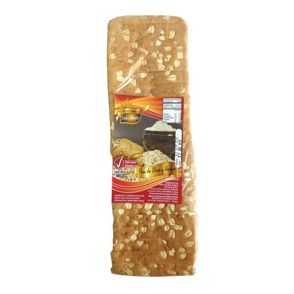 pan tajado integral sin azúcar