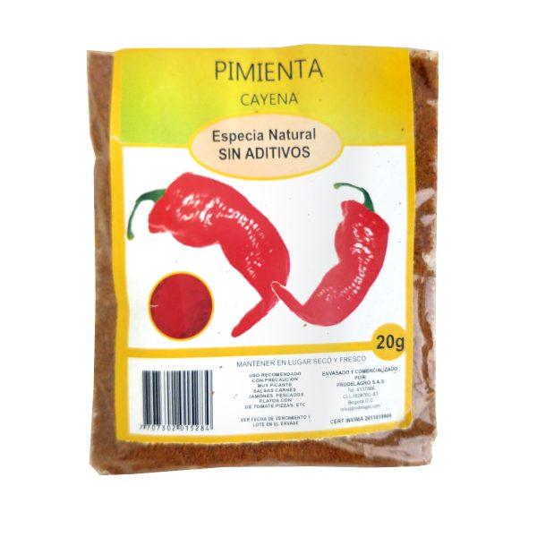Pimienta cayena