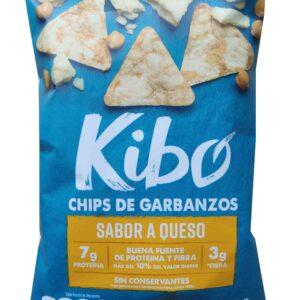 Chips de garbanzos con queso Kibo 28g