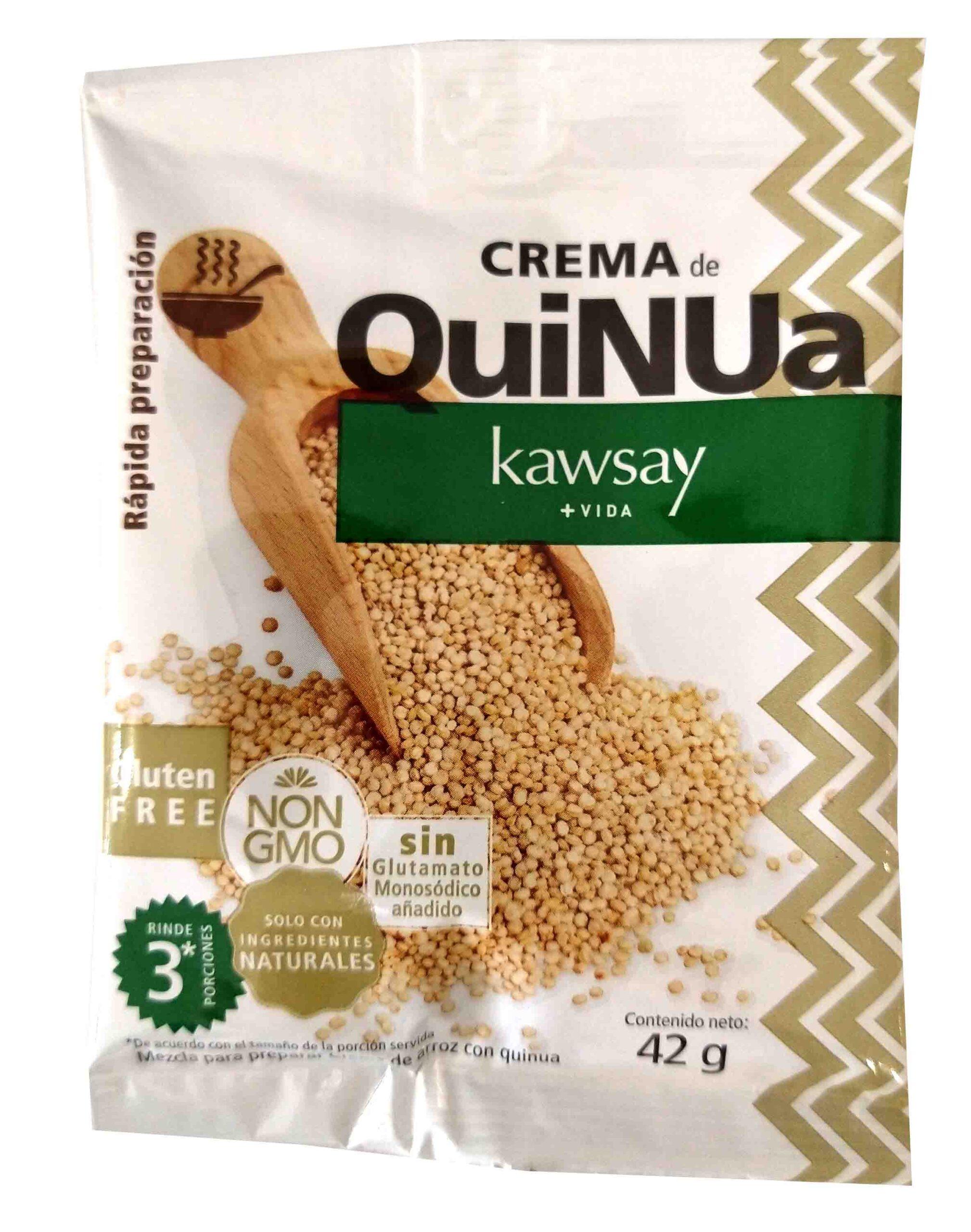 Crema de Quinua Kawsay