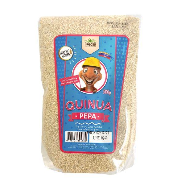 Quinua en Pepa