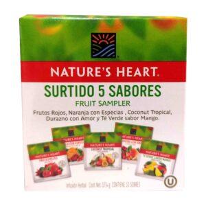 Infusión Herbal 5 Sabores Natures Heart