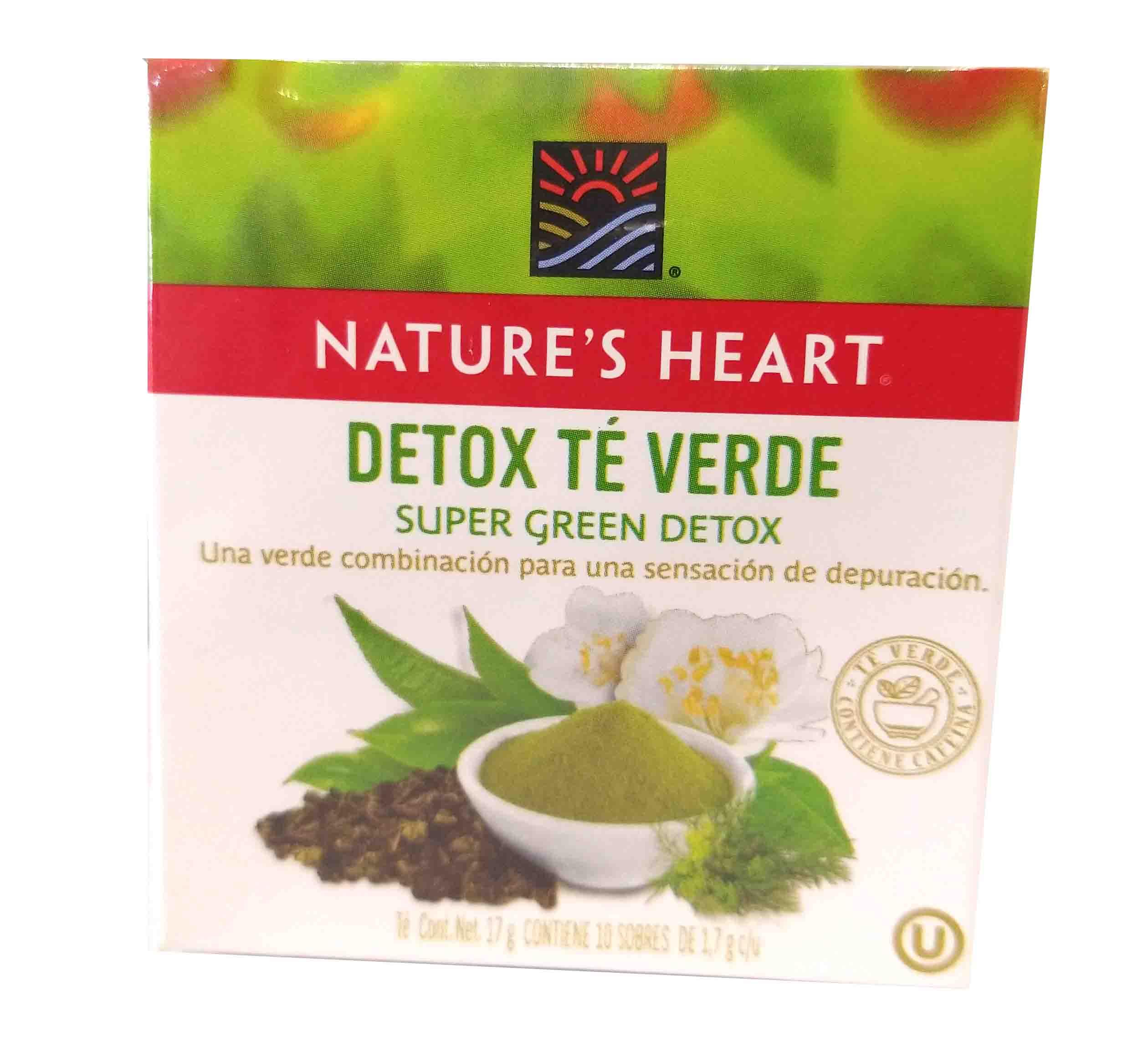 Detox té verde