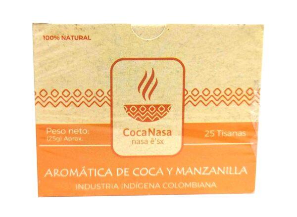 Té de coca y manzanilla x 25 sachet caja