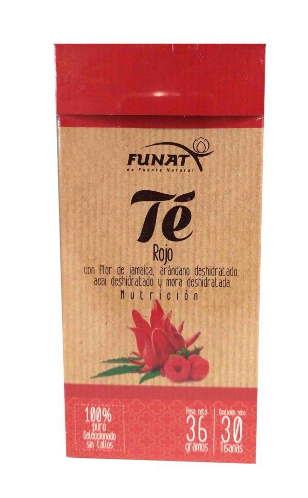 Te Rojo 36g x 30 sobres Funat