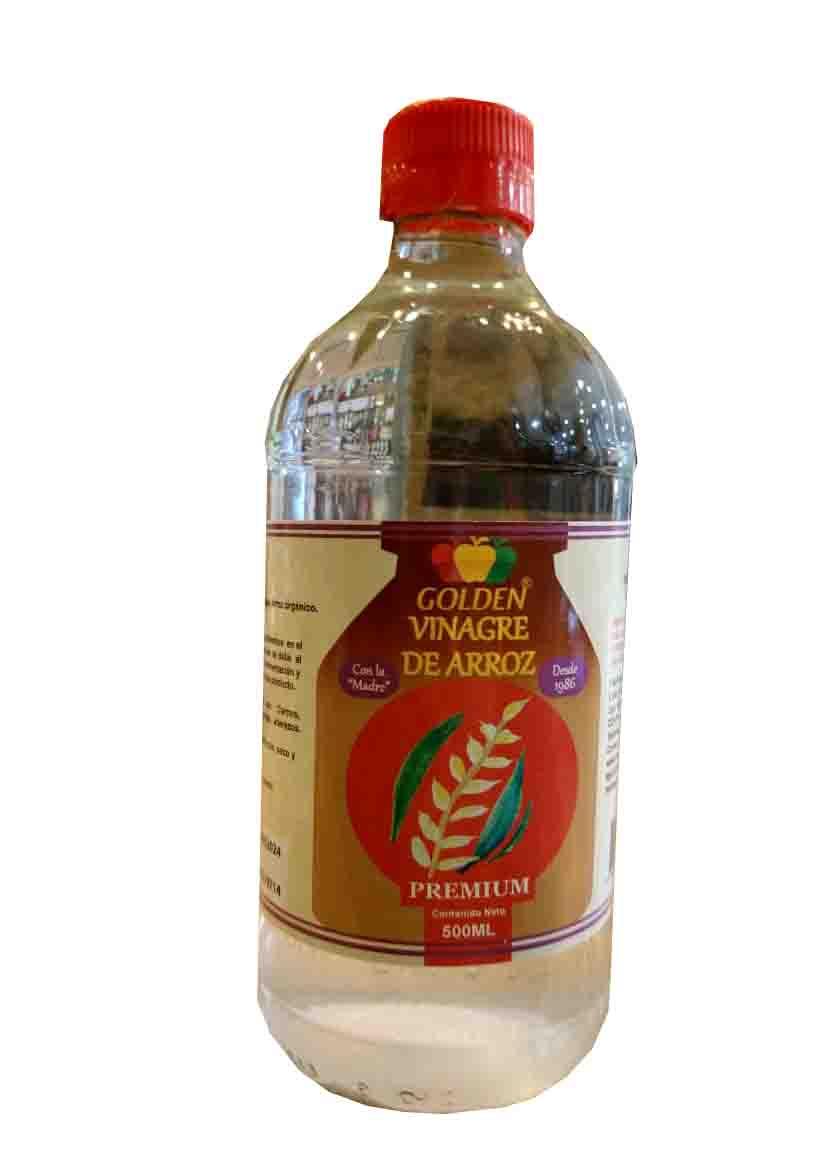 Vinagre de arroz orgánico 500ml Golden