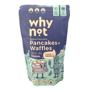 Mezcla pancakes waffles sin gluten