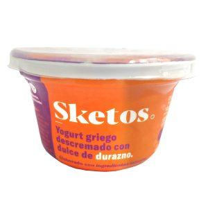 Yogurt griego durazno