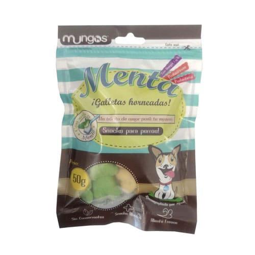 Snack de menta para perros